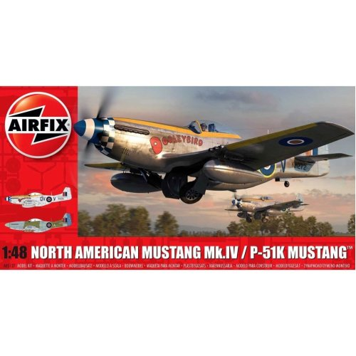 Airfix A05137 North American Mustang Mk.IV 1:48 Scale
