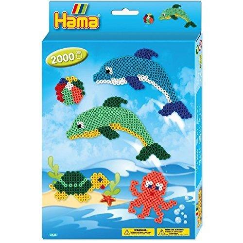 Hama Beads Dolphin Set