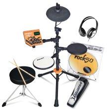 Carlsbro Rock50 Childrens Electronic Drum Kit Set