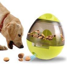 GEEZY Interactive Treat Bowl Toy   Boredom Breaker Dog Food Dispenser