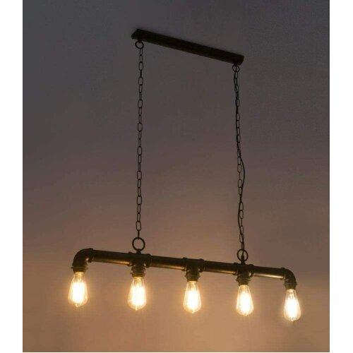 Industrial Vintage Ceiling Lights Metal Pipe Retro Loft Pendant