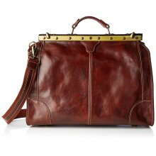 Original Leather bag - Doctor style - 46x35x21 -Made in Italy