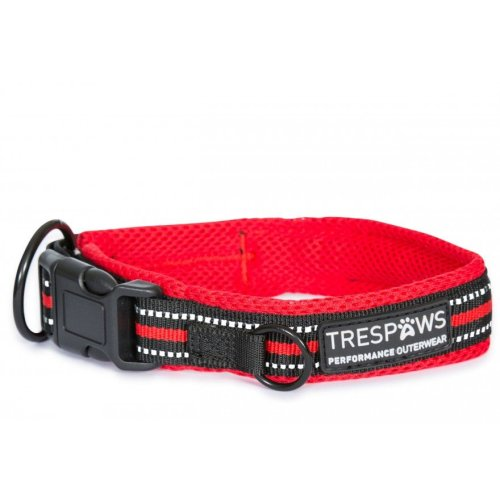 (L, Postbox Red) Trespass Scooby Dog Collar