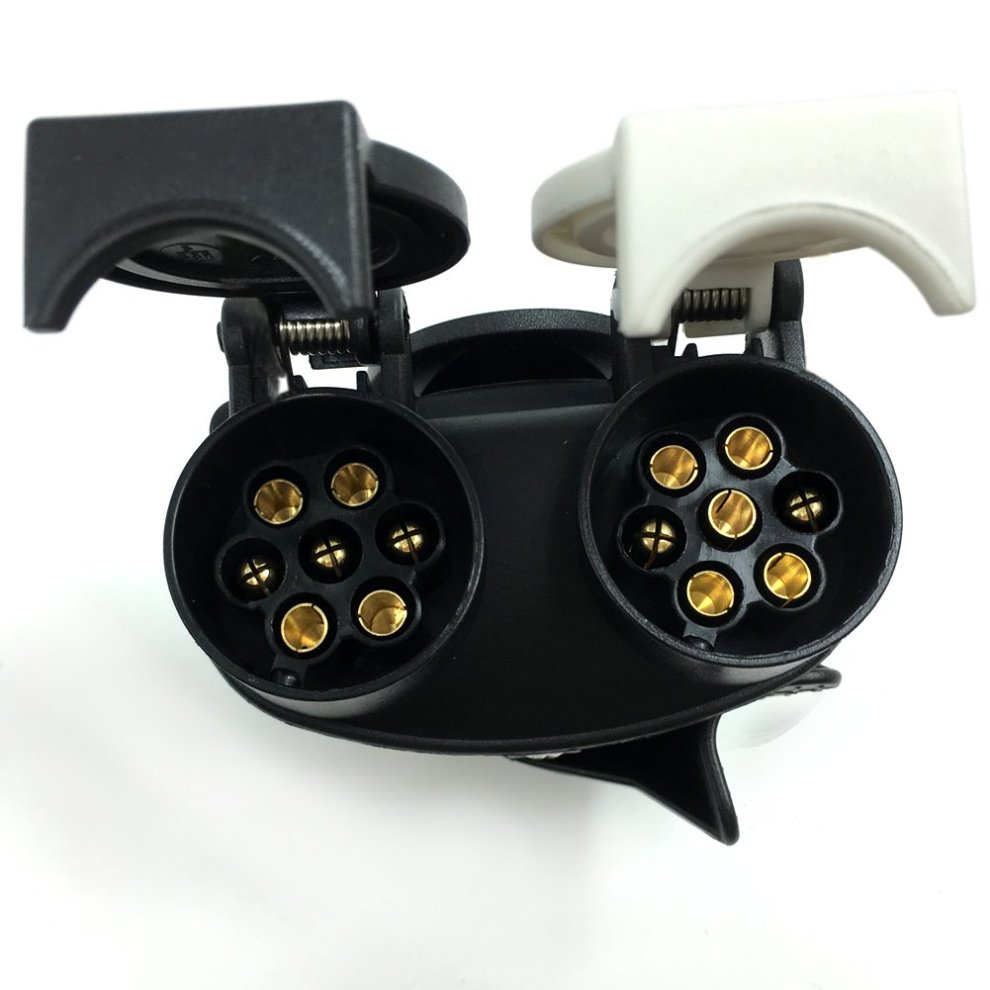 SmartSpec 13 Pin Plug to 12N & 12S 7 pin Sockets Caravan ...