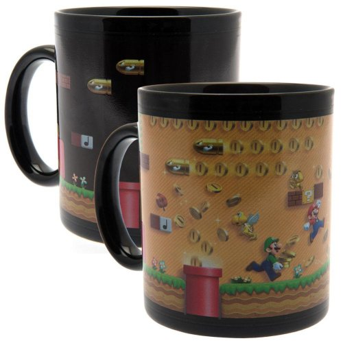 Super Mario Official Heat Changing Mug