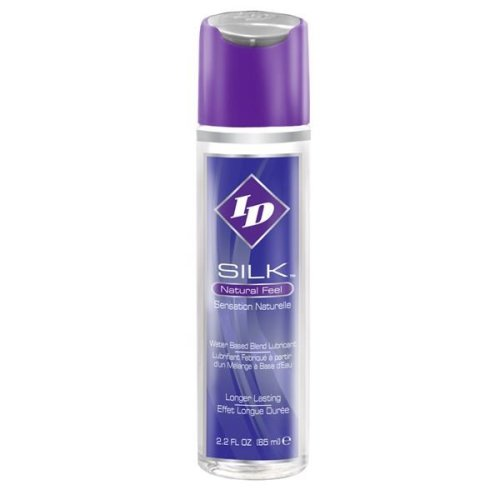 ID Silk Water Based Lubricant For Long Lasting & Natural Play In 2.2 floz Bottle