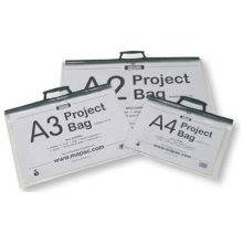 Mapac A2 Clear Art Project Carry Case