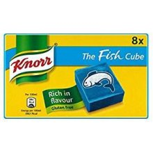 Knorr The Fish Cube Stock Cubes (8 x 10g) British