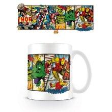 Marvel Heroes Panel Mug