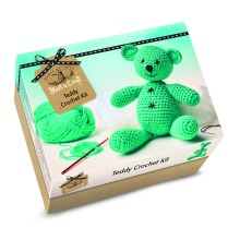 House Of Crafts Make Your Own Crochet Teddy Bear Starter Craft Kit Gift SC040