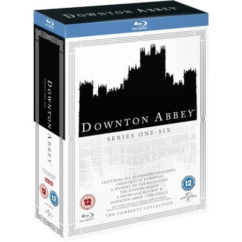 Downton Abbey Series 1 to 6 Complete Collection Blu-Ray [2016] - Used