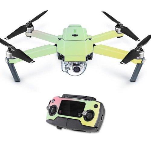 MightySkins DJMAVPRO-Berry Blurry Skin Decal Wrap for DJI Mavic Pro Quadcopter Drone Cover Sticker - Berry Blurry