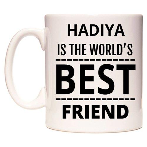 HADIYA Is The World's BEST Friend Mug