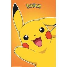 Pokemon Official Pikachu Poster