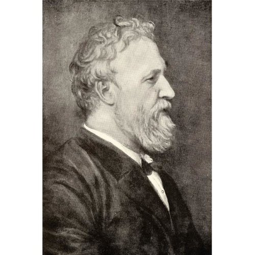 Robert Browning 1812-1889 English Poet From The Book The Ring & The Book Poster Print, Large - 24 x 36
