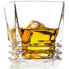 Whiskey Tumbler Crystal Old Fashioned Glasses 30CL