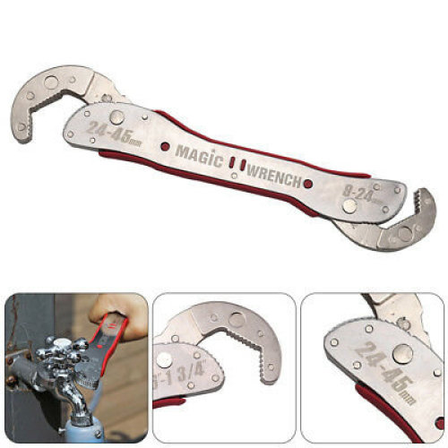StainlessMulti-function Universal Universal Wrench Magic Spanner Tools