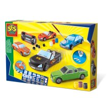 Ses Creative Cars Casting & Painting Kit Unisex Ages Six To Twelve Years Mu 01401