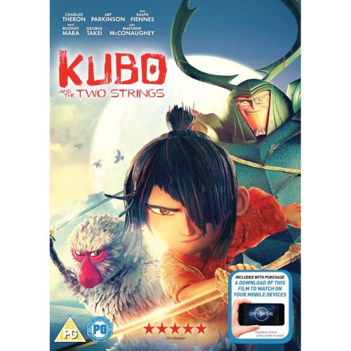 Kubo And The Two Strings DVD [2017]