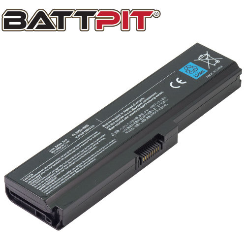 BattPit Battery for Toshiba PA3817U-1BRS PA3816U-1BRS PA3818U-1BRS PABAS228 Satellite C650 C650D C655 C660 C660D C670 C670D L600 L630 [6-Cell/48Wh]