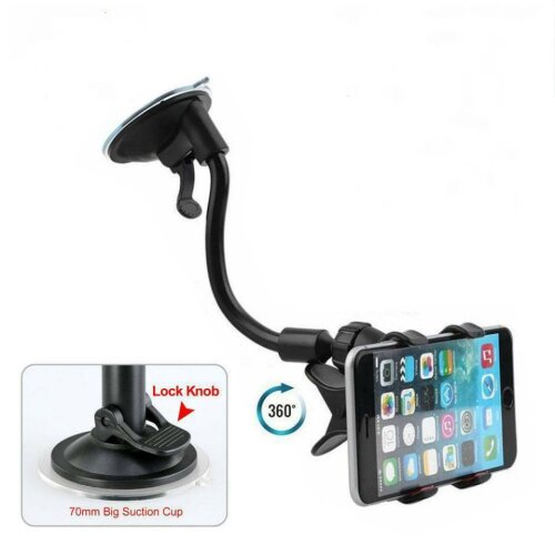 Universal Car Phone Holder Windscreen Suction Mount Stand Cradle