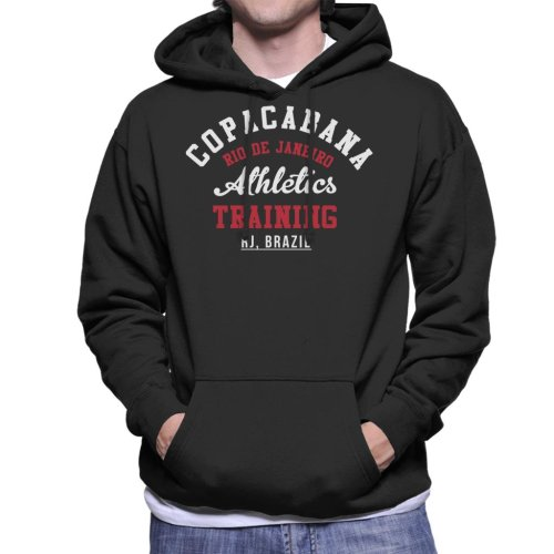 (Small) Copacabana Athletic Training Men's Hooded Sweatshirt