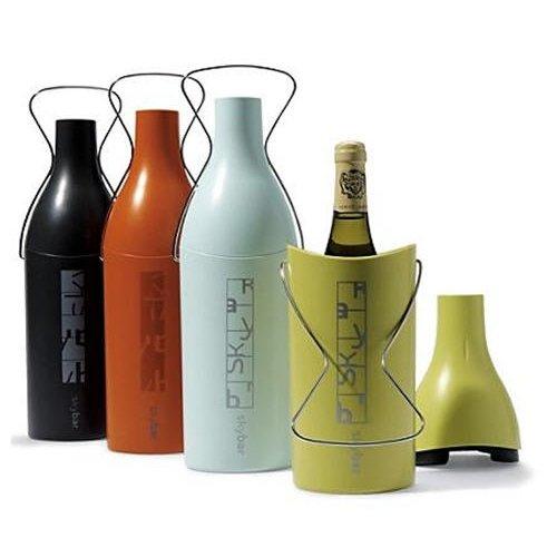 Skybar Insulated Wine Cooler Wine Traveller Case