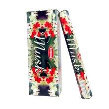 Krishan Incense Stick | Musk Perfume Fragrance Aroma 120 Joss Sticks