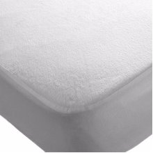 2x Cot Bed 140 x 70 cm Waterproof Mattress Protector Fitted Sheets