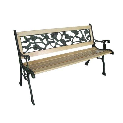 G4RCE Wooden Garden Bench   3 Seater Garden Bench