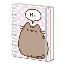 PUSHEEN (Pusheen Says Hi) A5 Wiro Notebook