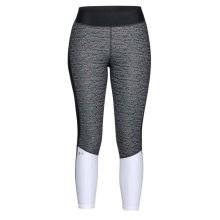 Under Armour HeatGear Armour Womens Ladies Fitness Ankle Crop Legging Black
