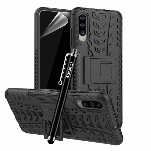 For Galaxy A70 Dual Layer Hybrid Shockproof Case