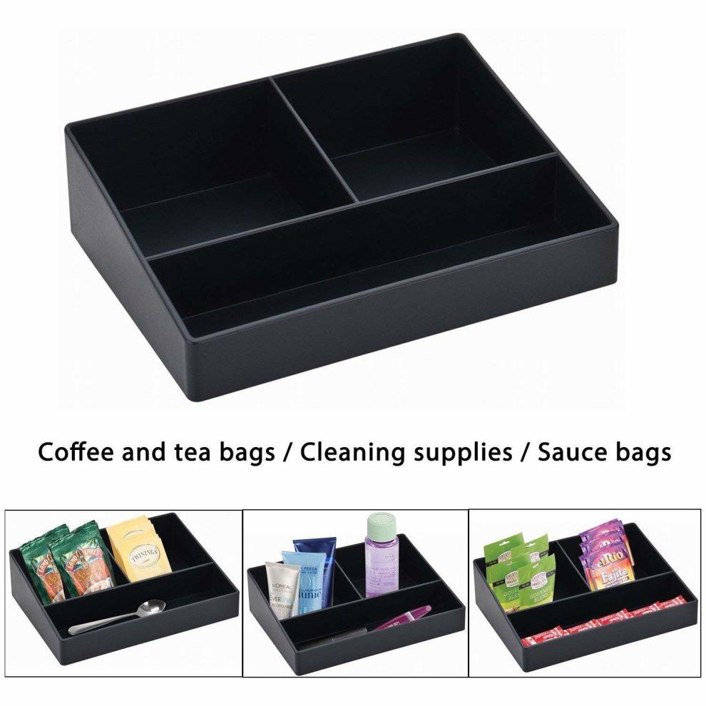 CROWNSTARQI Sachet Holder for Hotel,Practical Coffee Sachet Holder And Tea