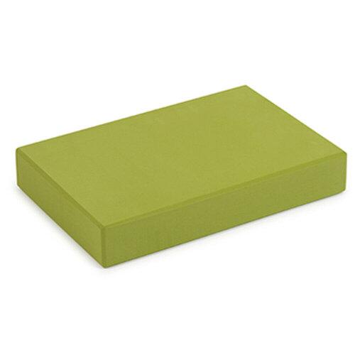(Green) Yoga Studio EVA Yoga Block | Lightweight Exercise Prop