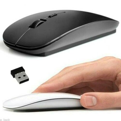 2.4GHz USB Wireless Optical Mouse Mice for Apple Mac Macbook Pro Air PC Windows
