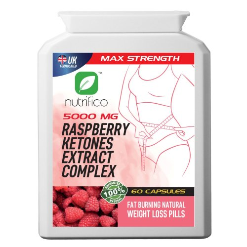 Raspberry Ketones Complex 5000mg High Strength Concentrated Pills