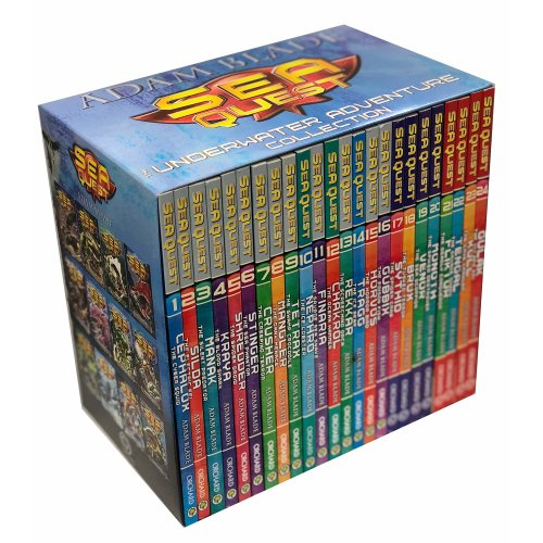Sea Quest The Underwater Avdenture Collection 24 Books Set