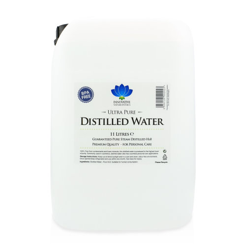 Distilled Water / 11 litres (11L) / Ultra Pure Steam Distilled / 0ppm