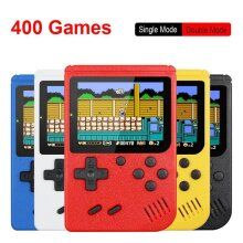 Retro Portable Mini Handheld Game Console 8-Bit 3.0 Inch Color LCD Red
