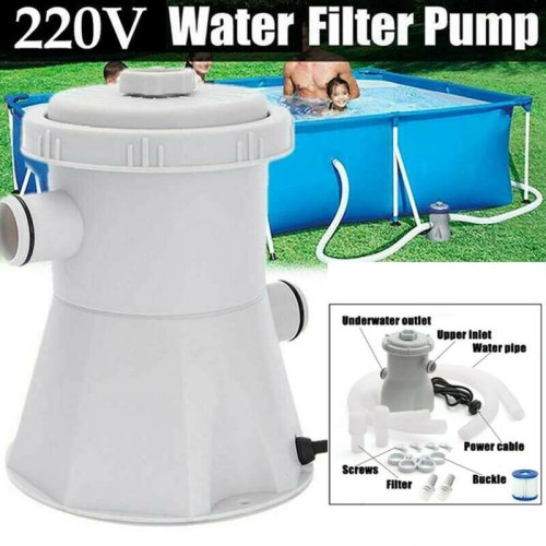 220V Electric Filter Pump Pools Swimming Paddling Pool Above Ground