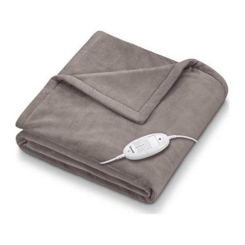 Electric Blanket Beurer HD75 100W (180 x 130 cm) Brown