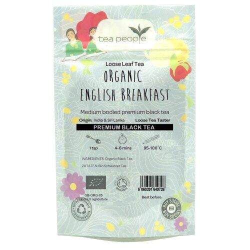 Organic English Breakfast - Loose Leaf Tea Taster Pack