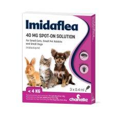 ImidaFlea For Small Cats, Small Dogs, & Rabbits 40mg