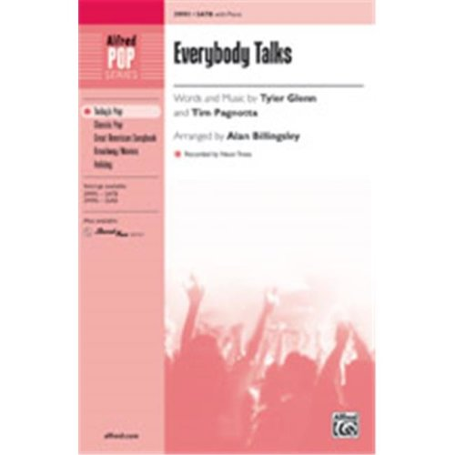 Alfred 00-39997 EVERYBODY TALKS-STRX CD