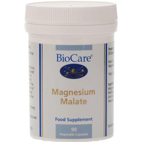 Biocare Magnesium Malate  250mg (50mg Elemental Magnesium)90 Capsules