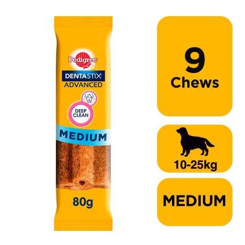 Pedigree Dentastix Advanced Dog Dental Chew 9pc