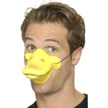 Yellow Duck Beak -  nose duck beak adults animal elephant trunk pig snout fancy dress accessory