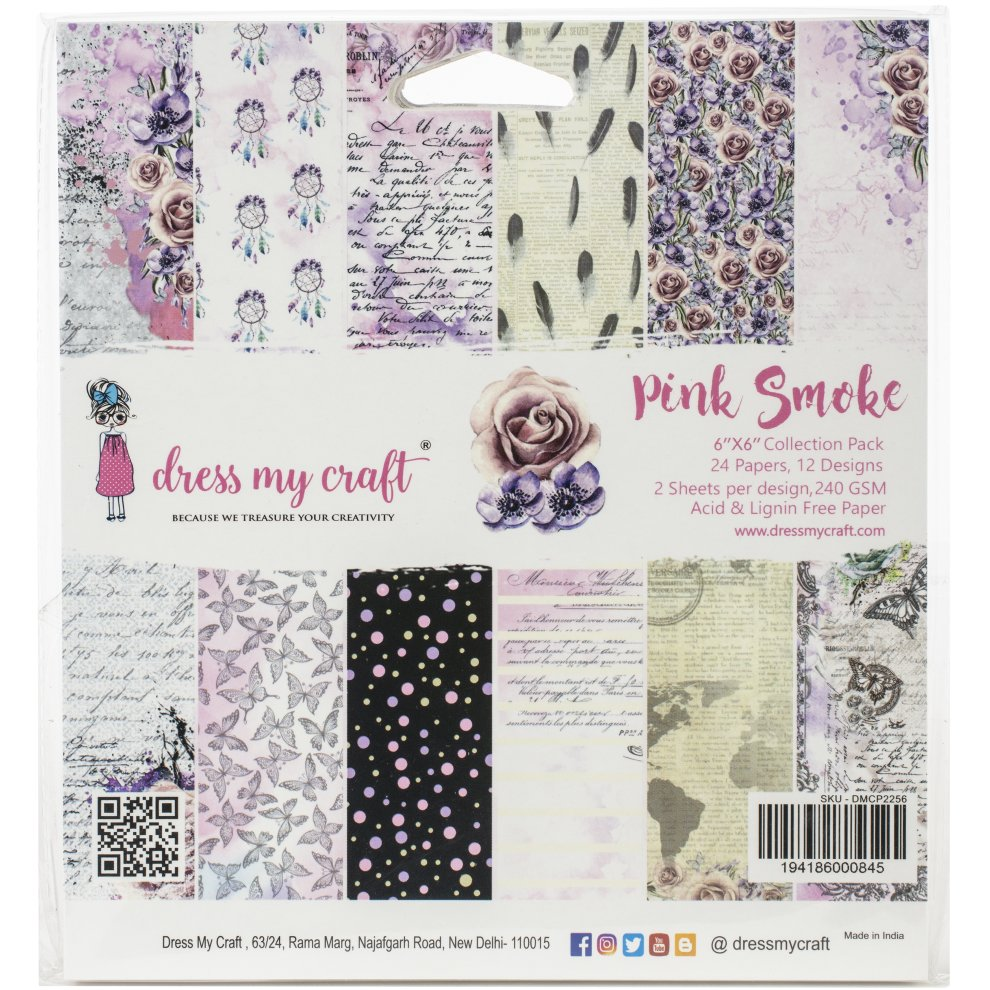 "12 Designs//2 Each Dcwv Double-sided Cardstock Stack 6/""x6/"" 24//pkg-witches Brew"