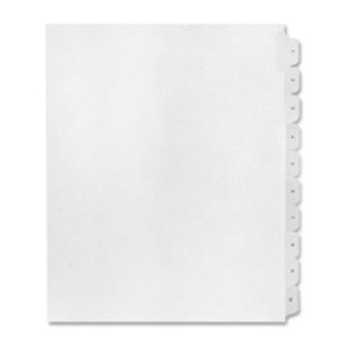 Inc.  Numerical Index Dividers- Exhibit 16- Letter White